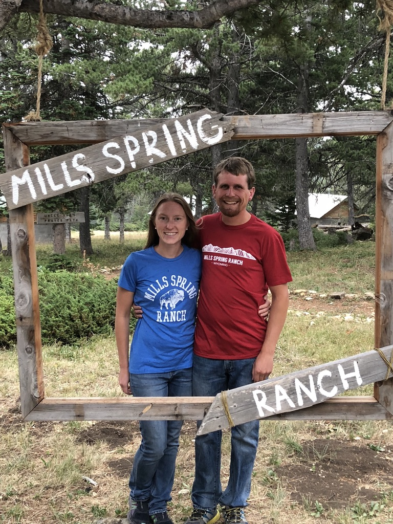 Mills Springs Ranch Director<BR>Brent Learned &<BR>wife Cassie